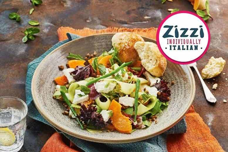 £30 instead of up to £50.50 for a three-course meal for two people including a glass of wine each at Zizzi from Buyagift - choose from 139 locations and save up to 41%