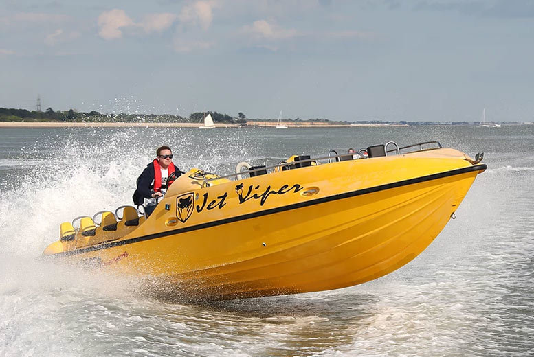 £59 instead of £199 for a 007 Powerboat experience for one, £99 for two from Saber Powersports - save up to 70%