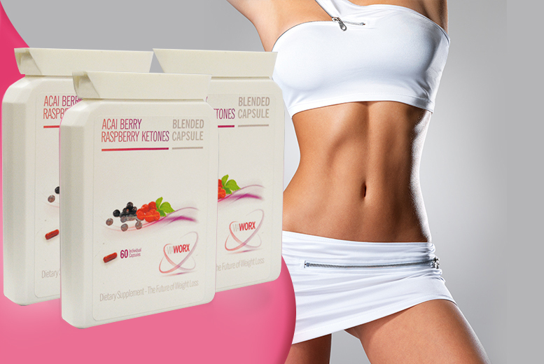 £18 instead of £116.97 (from Wowcher Direct) for a 3-month* supply of Raspberry Ketone & Acai capsules - save 85% + DELIVERY INCLUDED!