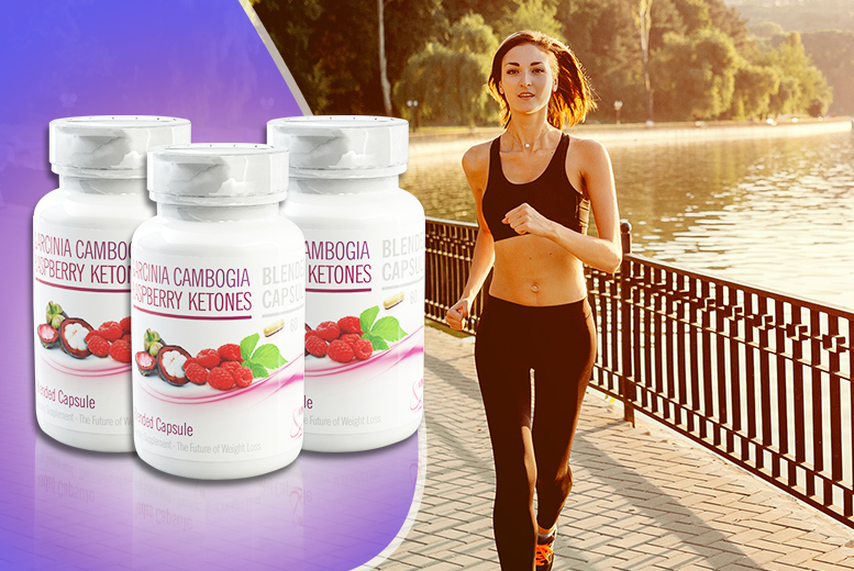£18 instead of £119.97 (from Wowcher Direct) for a 3-month* supply of raspberry ketone & Garcinia Cambogia capsules - save 85% + DELIVERY INCLUDED