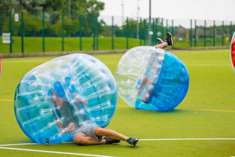 £99 instead of £250 for bubble football for up to ten people, £149 for up to 20 people with Spartacus Bubble Soccer - choose from eight locations and save up to 60%