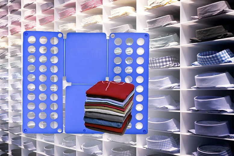 £4.99 instead of £12.99 for Sheldon's three-step shirt folder as seen on The Big Bang Theory from Ckent Ltd - save 62%