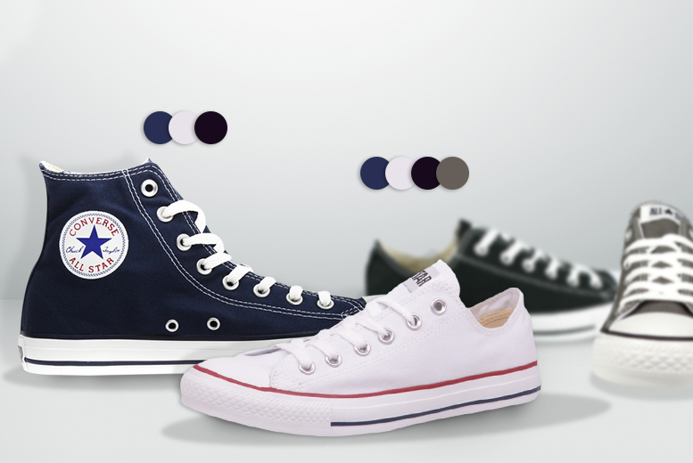 a pair of converse