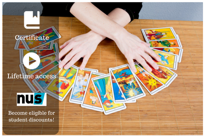 £9 instead of £69 for a psychic tarot card business coaching course from OfCourse - save 87%