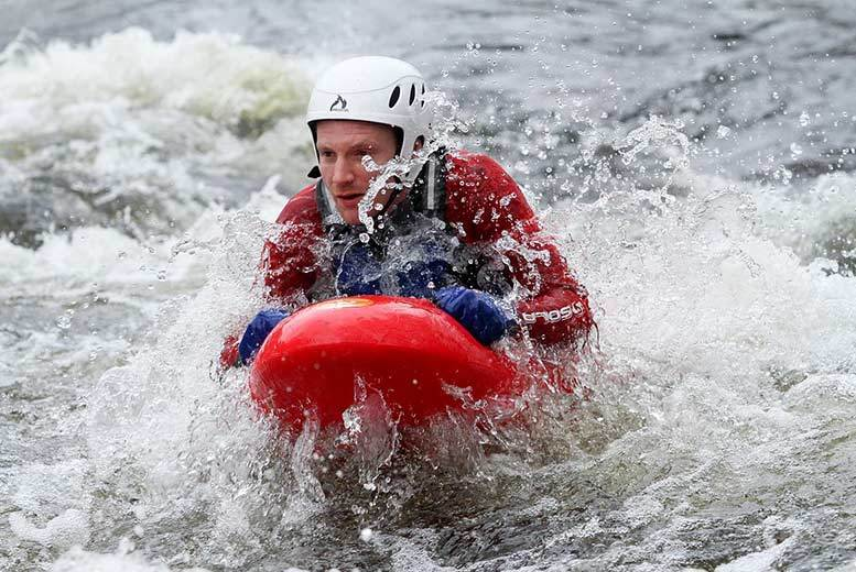 £29 instead of £55 for a session of white water bodyboating for one, £57 for two people at Bodyboating, Llangollen - save up to 47%