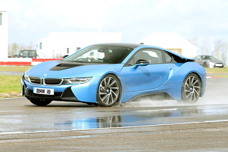 £39 instead of £149 for a three-lap BMW I8 weekday experience, £49 for a weekend expereince from Experience Limits - choose from three locations and save up to 74%