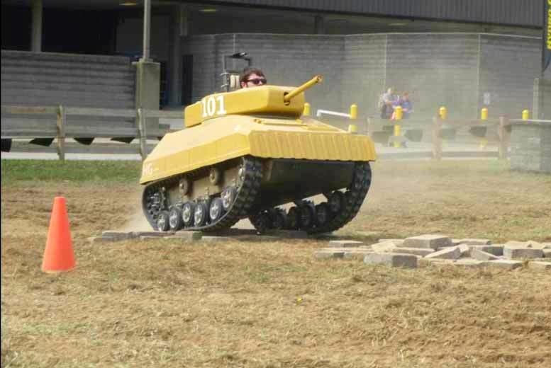 £29 for a 90-minute paintball tank driving session at Netley Hall Paintball, Dorrington