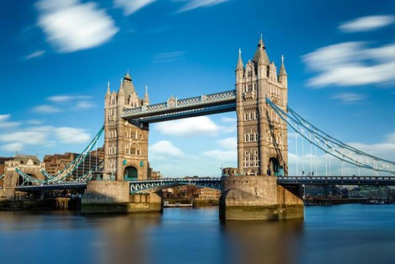 £4 for a child's ticket to an all-day, hop-on-hop-off London sightseeing River Red Rover cruise, £9.25 for an adult ticket from City Cruises - save up to 52%