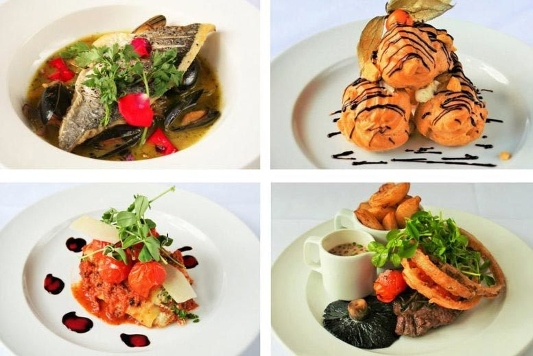 £24 for two-course dining for two people with a miniature bottle of fizz to share, £48 for four with a bottle of wine to share at Scalford Hall Hotel