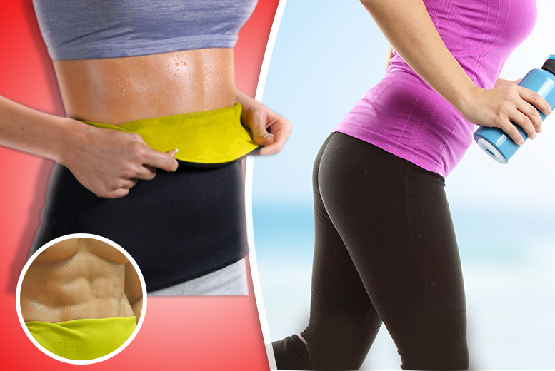 £9.99 instead of £30 (from Aneeks) for a thermo ab wrap in a choice of 5 sizes - save 67%