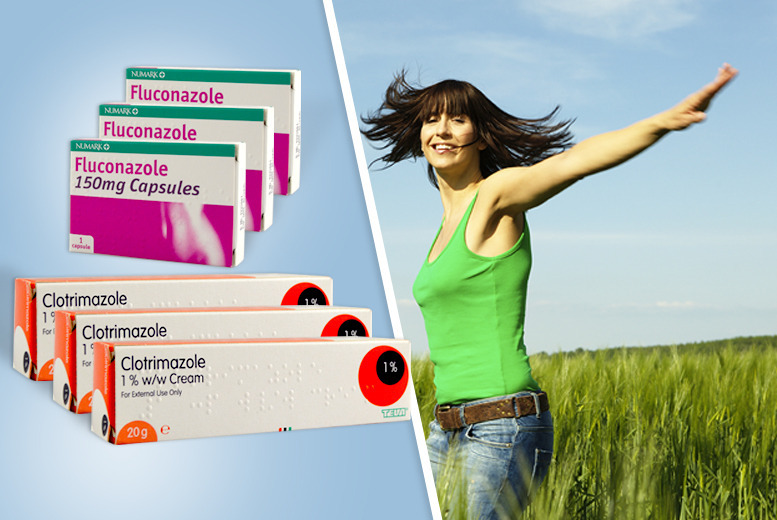 £7 instead of £41.95 (from ClearChemist) for three oral and cream duo packs of thrush treatment - save 83%