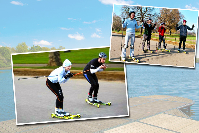 £12 instead of £24 for a 2-hour rollerski session with Rollerski, Hyde Park - save 50%