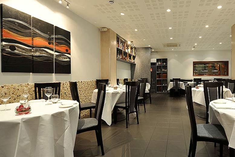 £49 for a three-course Michelin dinner with a glass of Prosecco each for two people at Latium, Soho from Buyagift!