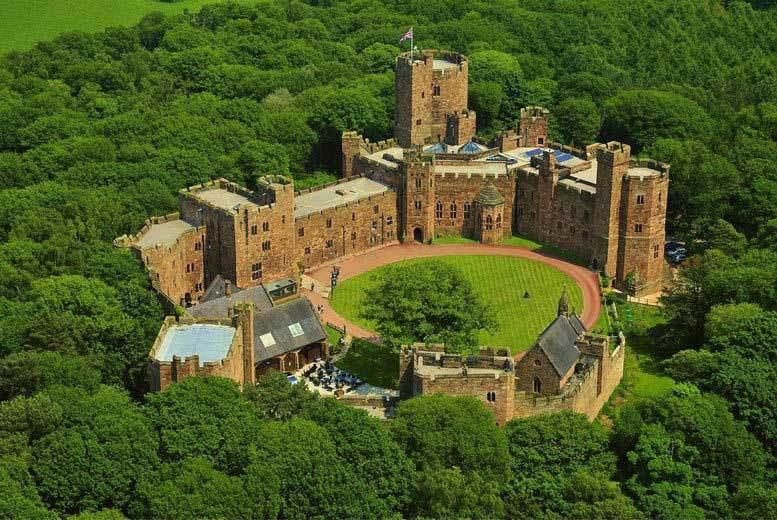 £59 instead of £91.50 for a spa day for one including two 25-minute treatments and a glass of Prosecco, or £115 for two people at Peckforton Castle - save up to 36%