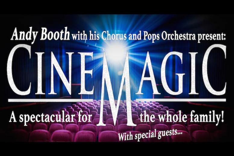 £9 instead of up to £15 for a ticket to see Andy Booth Presents Cinemagic at one of four locations - save 49%