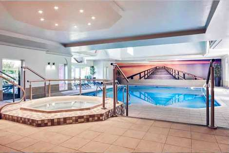 From £119 for a 4* overnight Shropshire stay for two with dinner, leisure access, choice of spa treatment, breakfast, £169 for two nights - save up to 36%