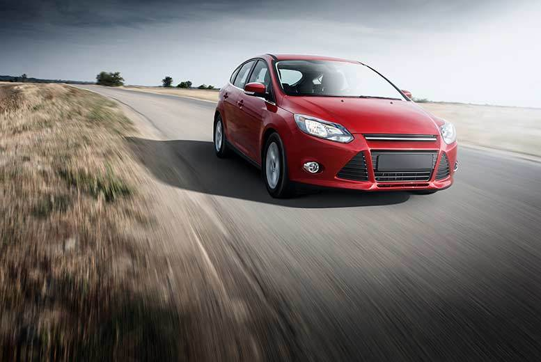 £49 for a rally driving experience in a Ford Focus ST 170 rally car at Driving Gift, Derby