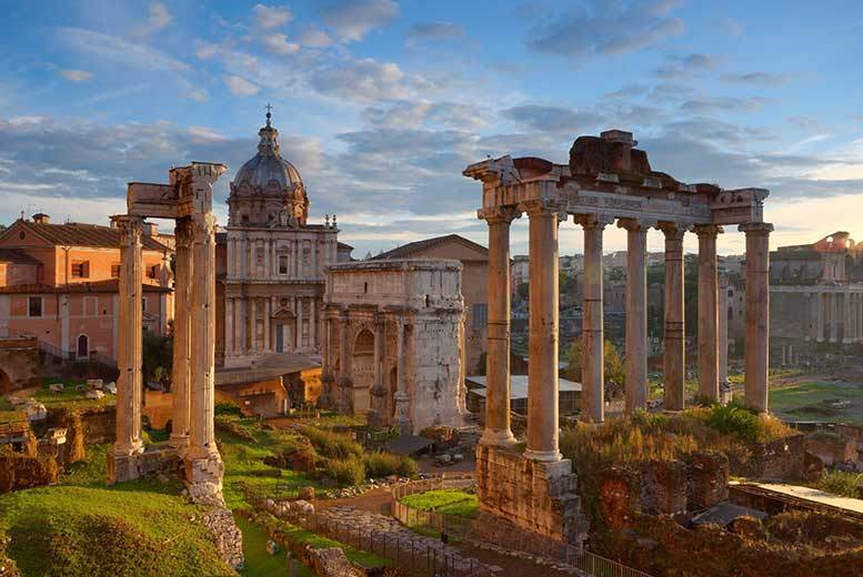 From £69pp (from Weekender Breaks) for a two-night Rome break including flights, or from £149pp for three nights - save up to 55%