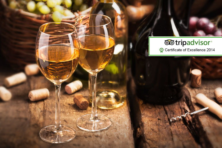 £129 for entry to Sedlescombe Organic Vineyard including wine tasting and lunch for 2 people, plus luxury overnight stay with breakfast - save up to 43%