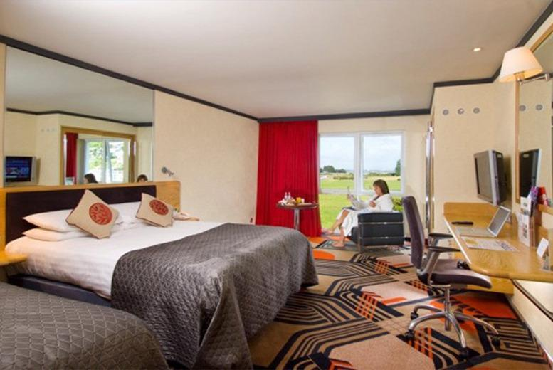 £59 (at The Langstone Hotel) for a 1-night stay for 2 including Prosecco, use of leisure facilities and breakfast, or £114 for 2 nights - save up to 46%
