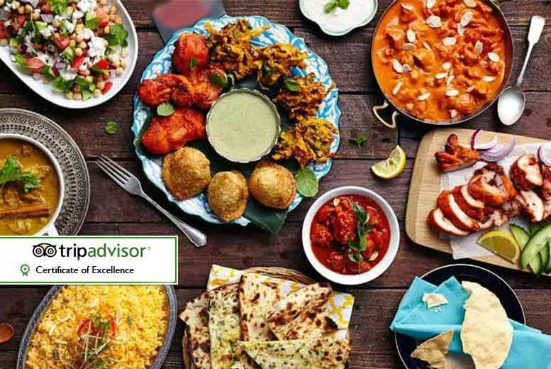 £11 instead of up to £23.98 for a Indian buffet lunch for two people at Shri Bheema's - choose from five locations and save up to a flavoursome 54%