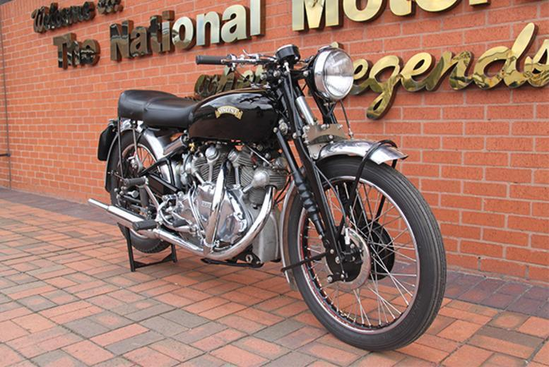 £9.50 instead of £19.90 for two adult tickets, £12.75 for a family ticket to the National Motorcycle Museum, Solihull - save up to 52%