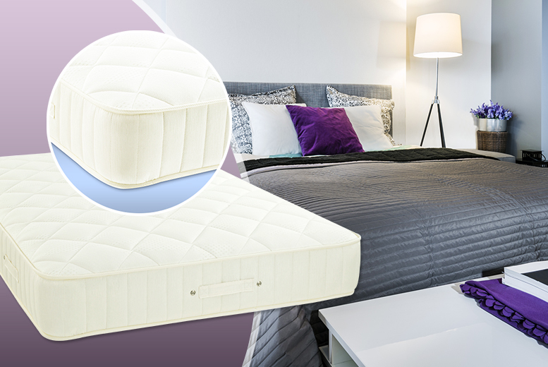 £219 for a single 3500 pocket sprung memory mattress, £269 for double, £299 for king or £369 for super king - save up to 73% + DELIVERY INCLUDED