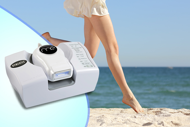 £199 instead of £569 for a HoMedics Me Plus Elos IPL hair removal system from Wowcher Direct - save 65%