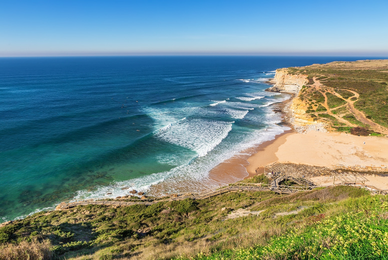 From £49 (at Ericeira Chill Hill) for a 3nt Portugal surfing trip inc. a 2-hour surfing lesson, from £89 for 5nts or from £149 for 7nts - save up to 63%