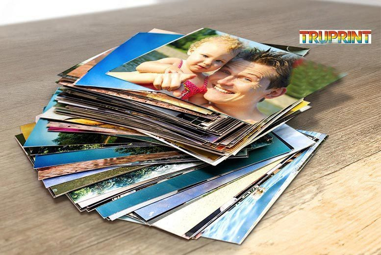 "£3 instead of £27 (from Truprint) for 300 6"" x 4"" photo prints - save a picture-perfect 89%"