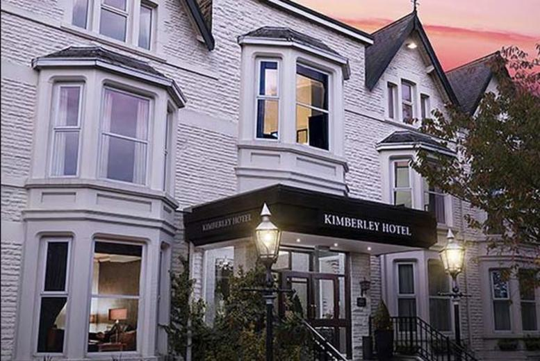 From £99 (at The Kimberley Hotel) for a one-night Harrogate stay for two with breakfast, dinner, bottle of wine and chocolates, from £149 for two nights - save up to 44%