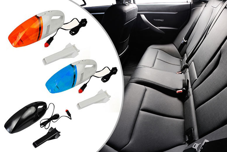 £5.99 instead of £19.99 (from Vivo Mounts) for a 12V handheld portable car vacuum - choose from three colours and save 70%