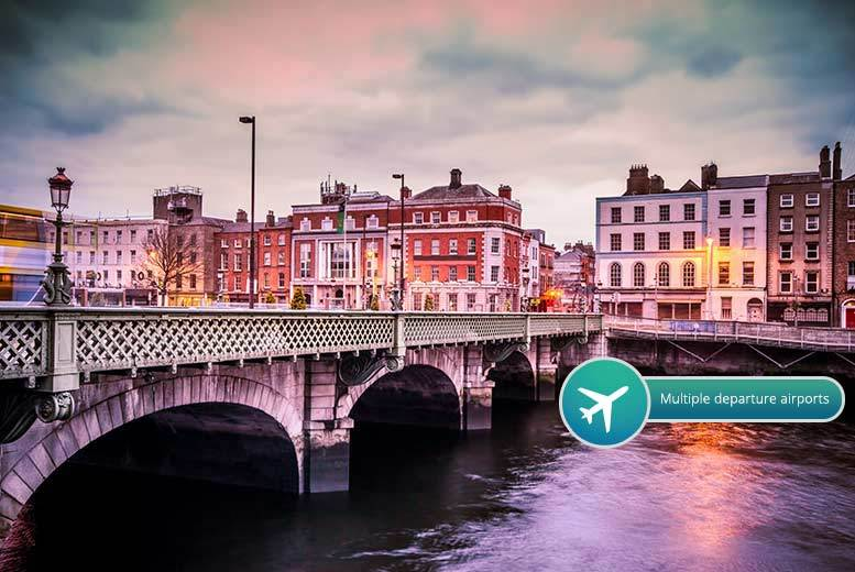 From £99pp (from ClearSky Holidays) for a twonight 4 Dublin break including flights and whiskey tour from £149pp for three nights  save up to 53