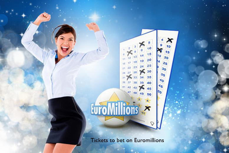 £5 (from PlayLottery.com) for 110 syndicate EuroMillions entries, £10 for 220, £15 for 330, £20 for 440 or £25 for 550 - save up to 50%
