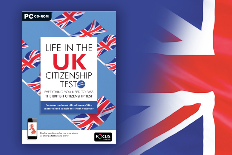 £9.99 instead of £29.99 (from eOutlet) for a 'Life in the UK' British citizenship test CD - save 67%