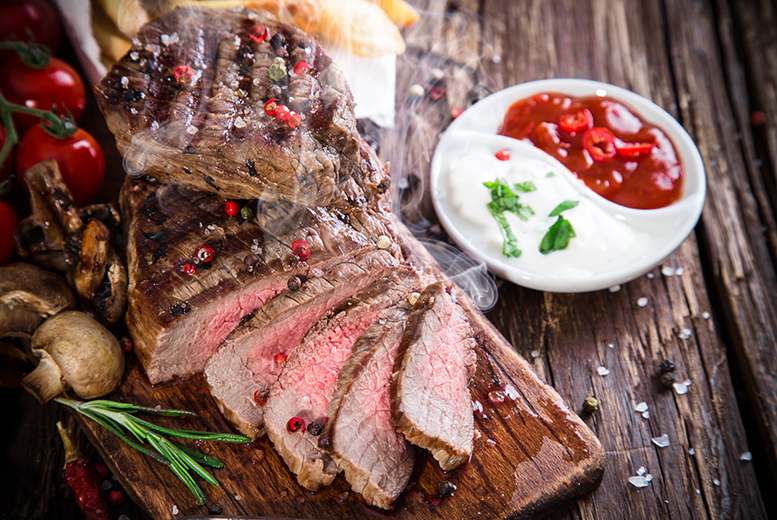 £12 instead of up to £18.98 for a steak meal for 2 people inc. a glass of house wine or half pint each at The Polton Inn, Edinburgh - save up to 37%