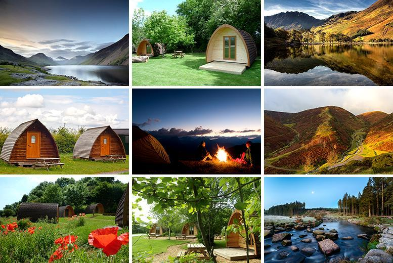 £99 (from Buyagift) for a two-night glamping break for two at a choice of 14 UK locations