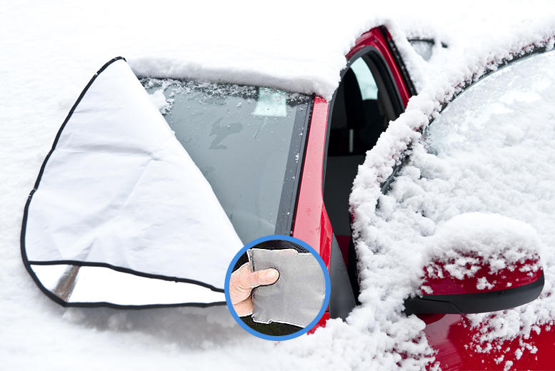 £4.99 instead of £19.99 (from SA Products) for a magnetic windscreen cover - save 75%