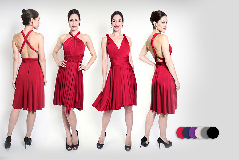 £19.99 (from Kiana Fashions) for a versatile midi dress in a choice of three sizes and six colours - save up to 80% + DELIVERY IS INCLUDED!
