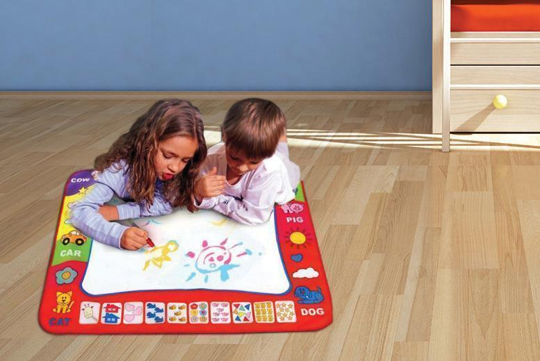 £9.99 instead of £49.99 (from The Treasure Chest) for a magic doodle mat and pen - save 80%