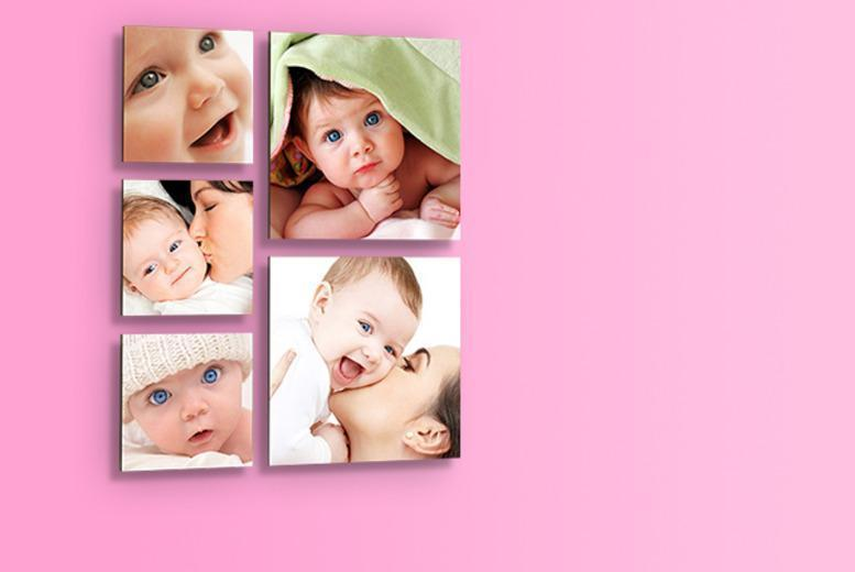 £14.99 instead of £49.99 (from 1clickprint) for a set of 5 floating photo prints - save a picture-perfect 70%