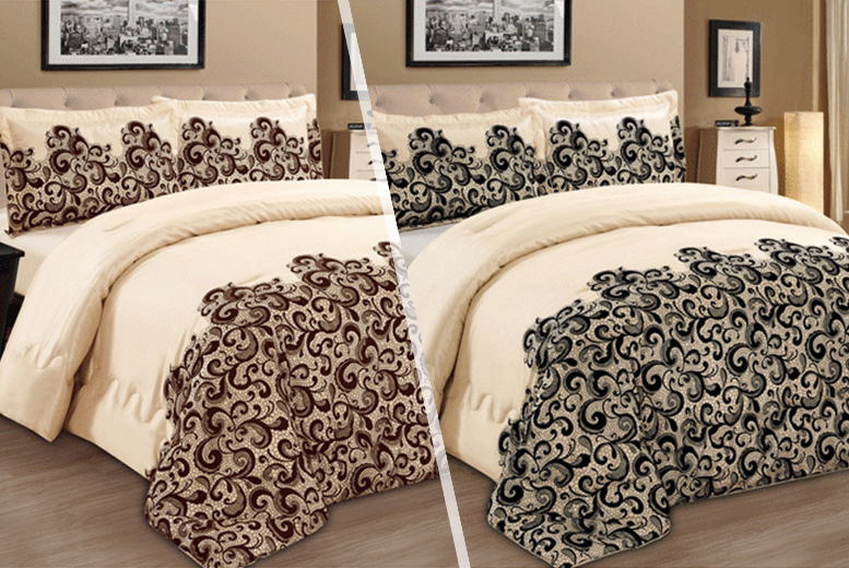 £19.99 instead of £32 for a 3-piece bedspread set inc. two pillowcases from Wowcher Direct - save 38%