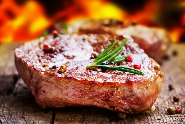 £19 instead of £38.80 for a steak dinner for 2 inc. a glass of wine each at Steam Wine Bar, Monument - save 51%