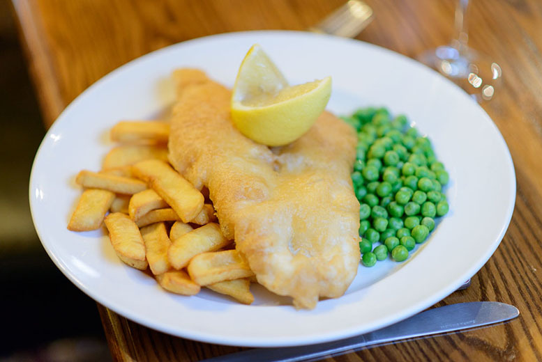 £9 instead of up to £21.50 for fish and chips for 2 at The Telford Arms, Edinburgh - save up to 58%