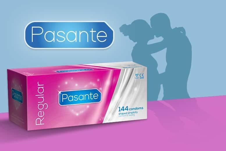 144pk pasante regular condoms