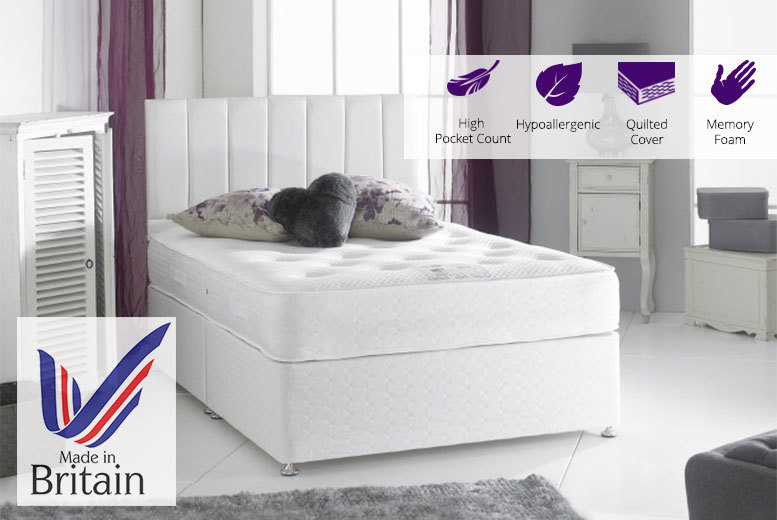 From £149 (from Sleep Express) for a luxury 3000 pocket sprung memory foam mattress - choose from five sizes and save up to 81%