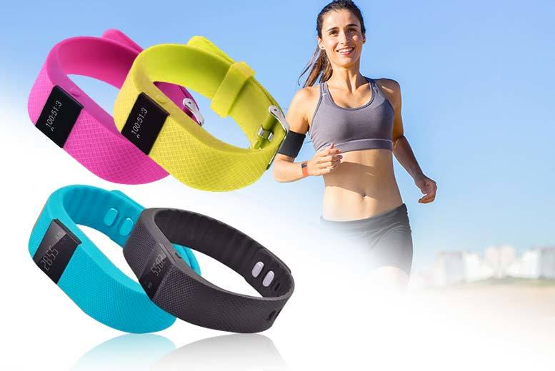 £12 instead of £85 (from TLD Retail) for a TW64 smart Bluetooth fitness bracelet - choose black, blue, pink or yellow and save 86%