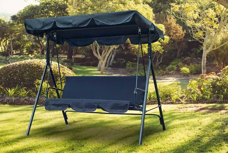 Superior Mhstar   3 Seater Garden Swing Chair ...