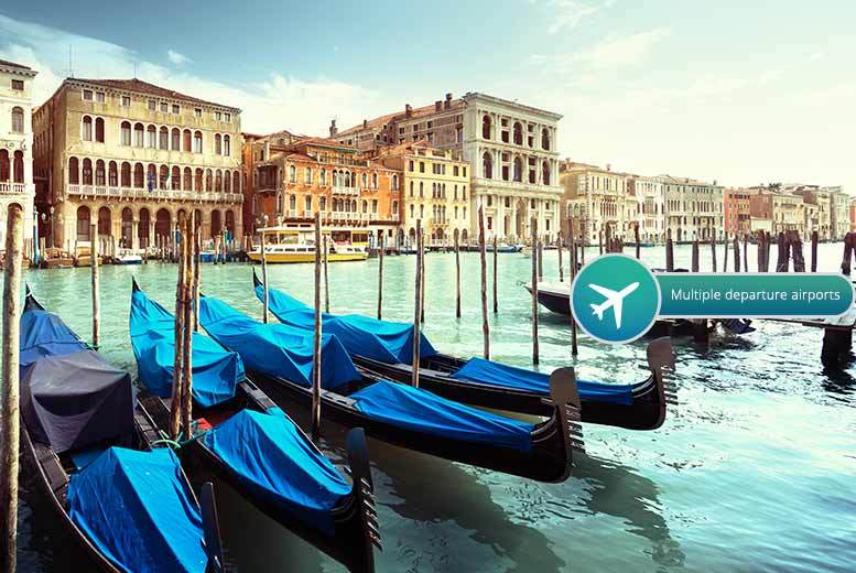 From £139pp for a two-night Venice and two-night Florence escape with breakfast, flights, trains and optional tours, from £219pp for three nights in both - save up to 43%