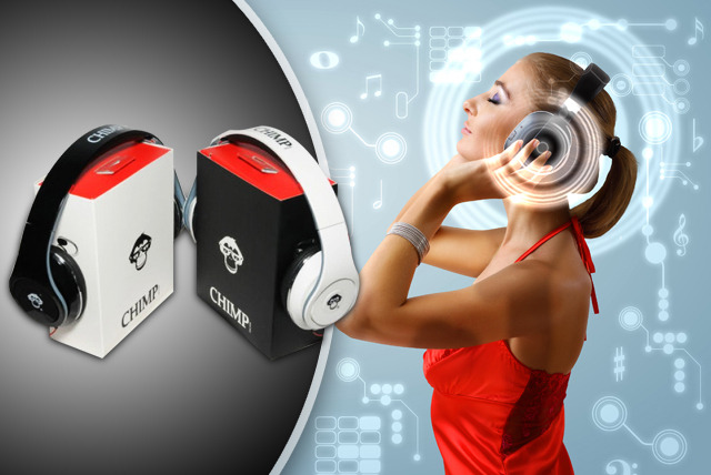 £19.99 instead of £69.99 (from Chimp Electronics) for a pair of Chimp CS-500 Headphones - go ape with these stylish headphones and save 71%